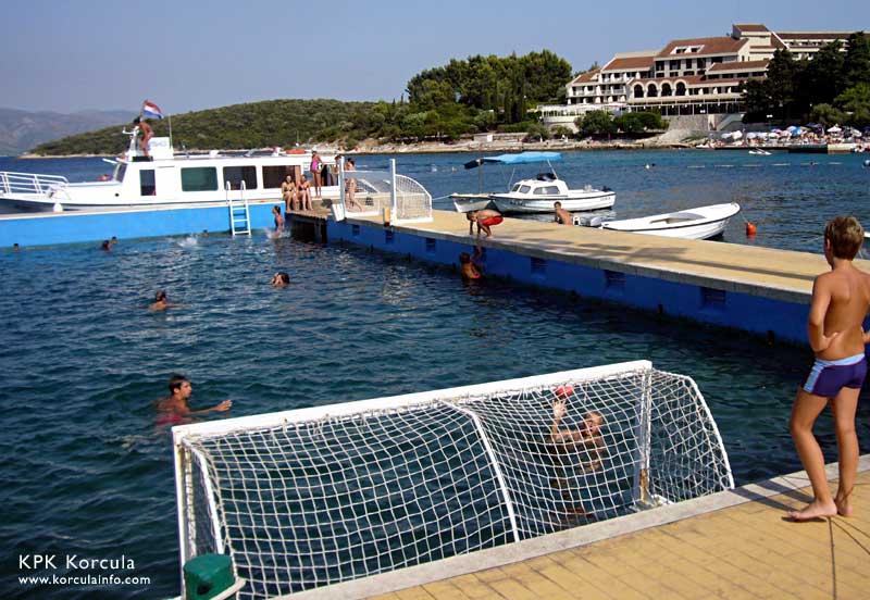 WaterPolo training