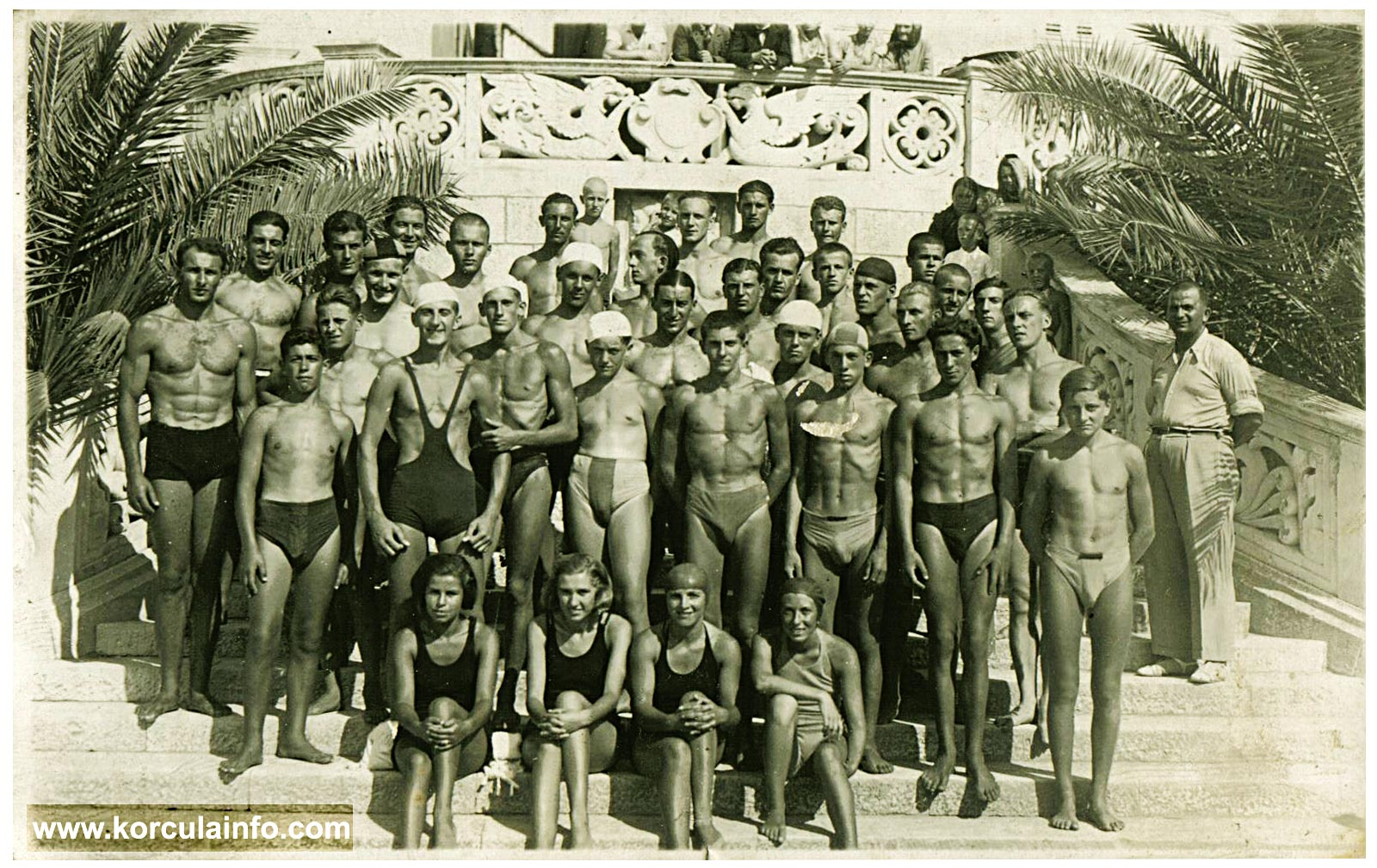 Members of KPK swimming and water polo club (Korcula 1935)