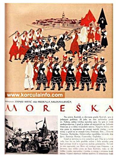 Moreska drawing from 1951