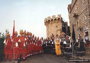 Young Moreska dancers (1990)
