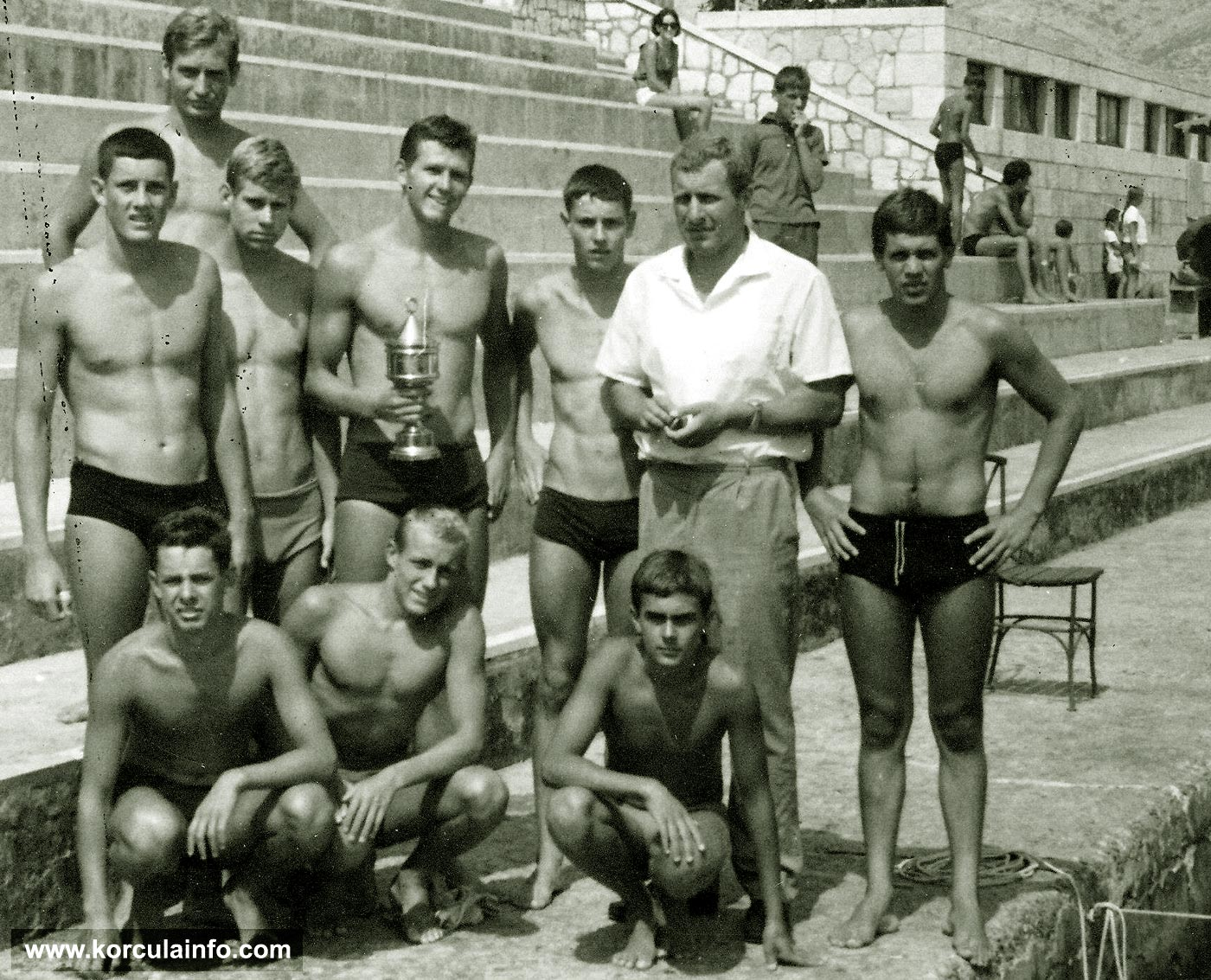 Junior Water Polo Team - KPK in 1965