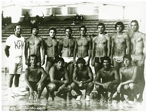 Junior Water Polo Team - KPK in 1974
