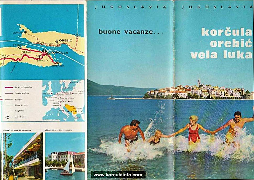 Tourist Brochure from 1970s