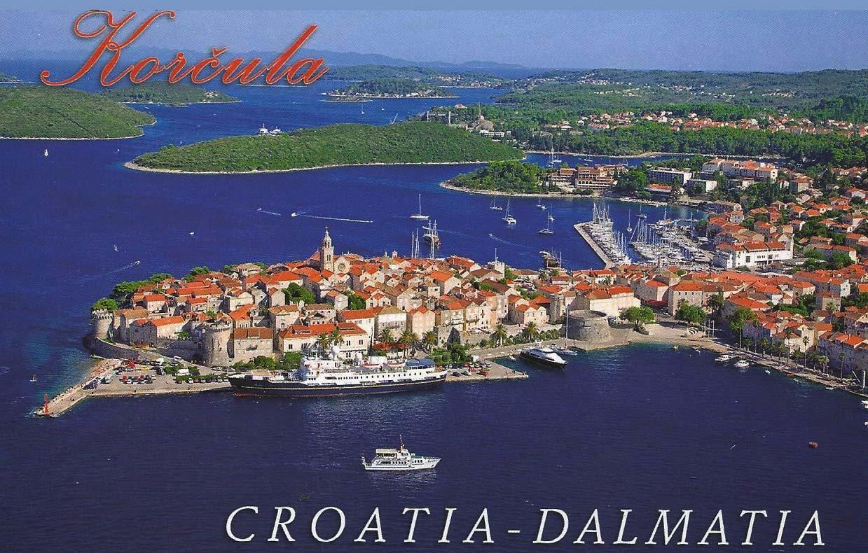 Postcard of Korcula (2000s)