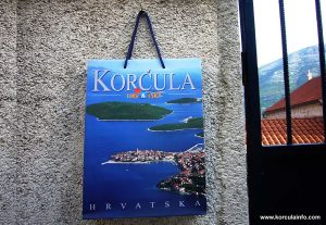 Korcula Paper Bag by Local Tourist Board
