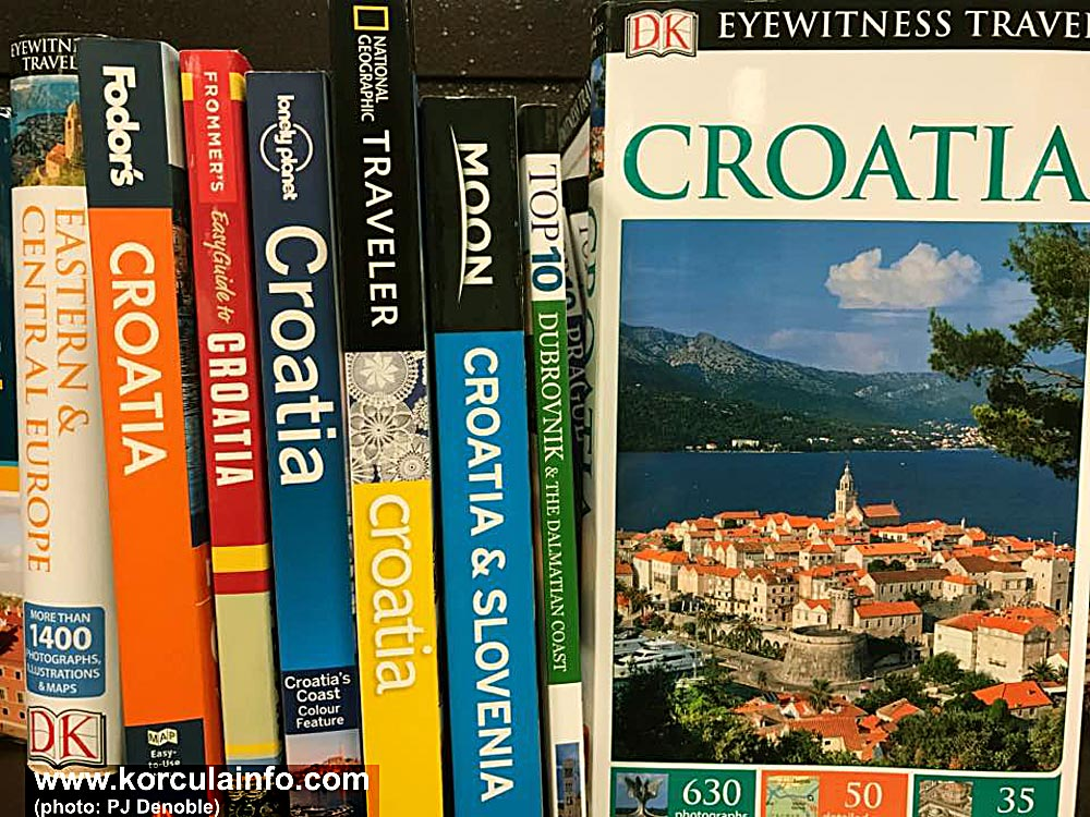 Korcula on the front cover
