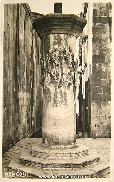 Pillar at Pjaca