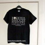 Korkyra Baroque Festival T-Shirt from 2012