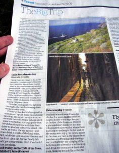 Luka Korculanska in The Guardian, May 2009