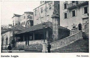 Pillar near Loggia (1900s)