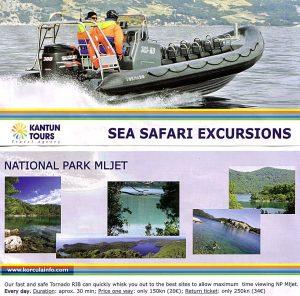 Sea safari Excursion to Mljet National Park