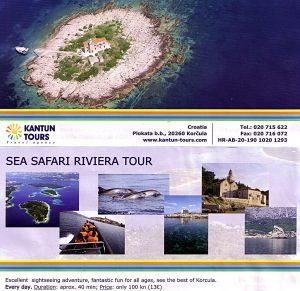 Sea Safari Riviera Tour around Korcula Archipelago