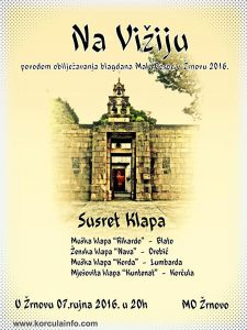 Koncert Klapa - Mala Gospa, Zrnovo (2016)