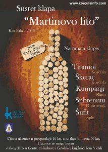 Martinovo Lito 2012 – Klapa Singing Festival in Korcula