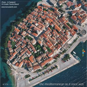 Korcula Poster by Croatia Tourist Board