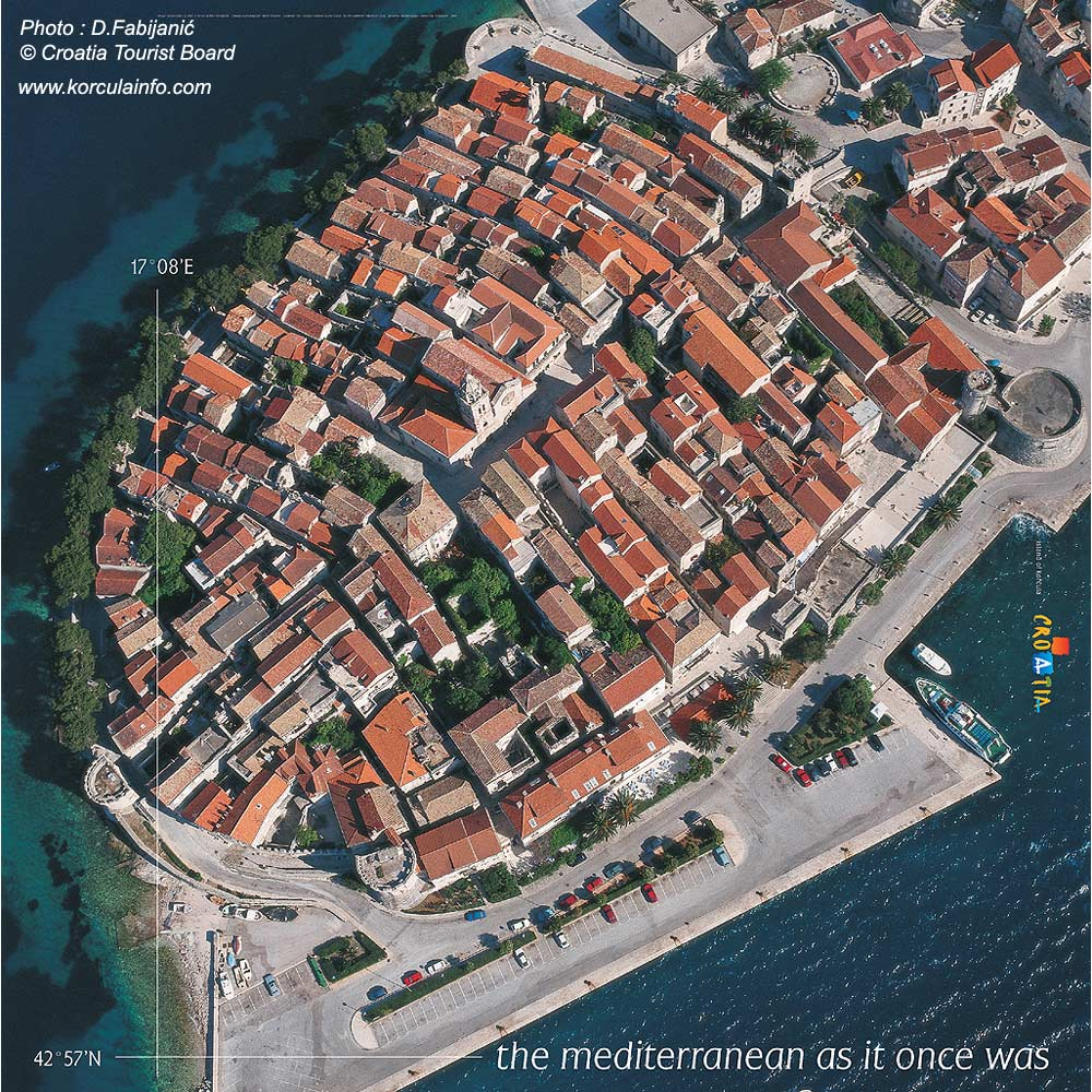 Korcula Poster by Croatia Tourist Board