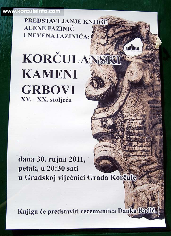 Book Korcula Coat of Arms Poster
