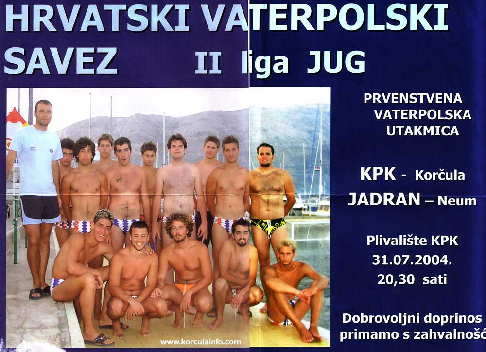 KPK Water Polo Poster 2004