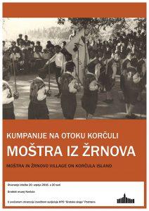 Mostra in Žrnovo, exhibition, Korcula Island