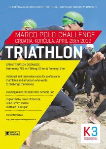 Marco Polo Challenge 2012- SPRINT triathlon Poster