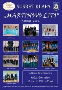 Klapa Singing Festival Martinovo Lito 2009