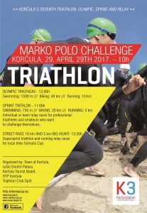 Marco Polo Challenge 2017- SPRINT triathlon Poster