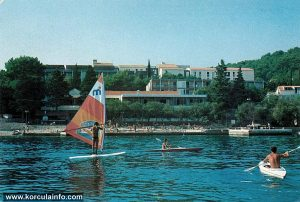 Windsurfer in Korcula (1980s)