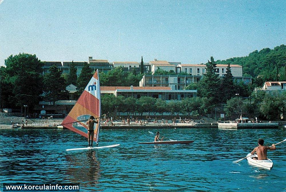 Windsurfer in Korcula (1980s)