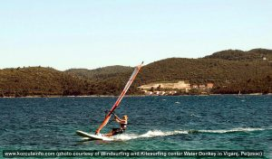 Windsurfer @ Peljesac channel