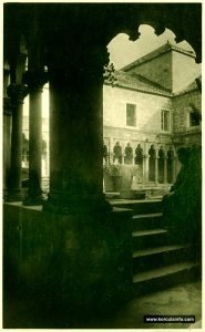 Approach to the Cloister - Badija