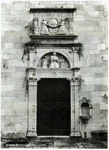 Portal of the Church, Badija