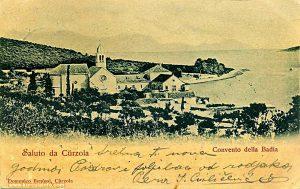 Convento della Badia - print from 1902