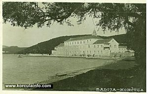 Badije Monastery in 1940s - the grammar school is still here
