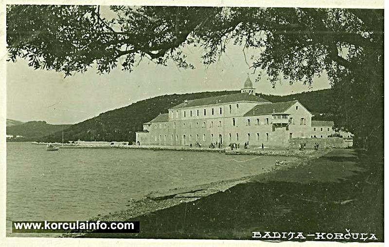 Badije Monastery in 1940s - the grammar school is still here