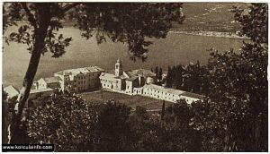 The Monastery Complex on Badija in 1959