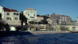 Quiet time - Banje beach in 1970s