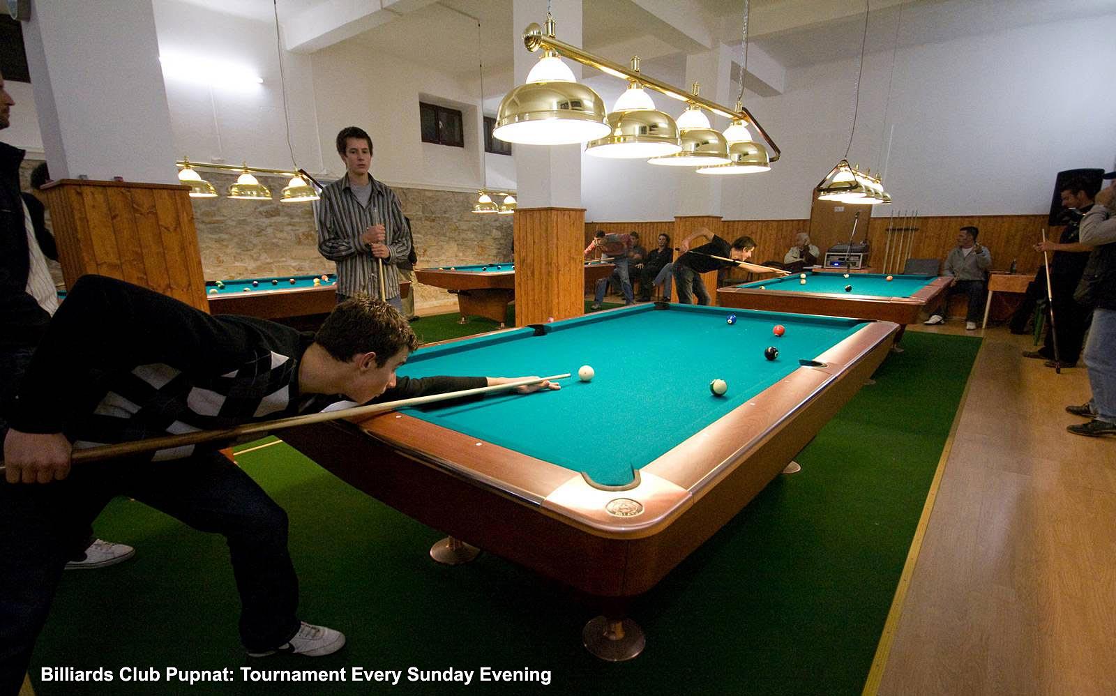 Billiards Club in Pupnat