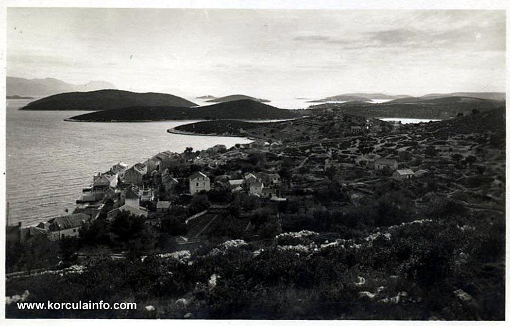 Borak Curzola Panorama 1920s