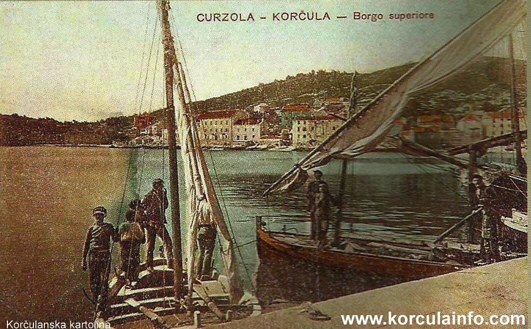 Boats in Borak, 1900s