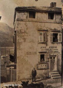 Shop in Borak, 1920s