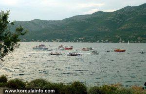 Boat Race Kneze - Korcula 2015