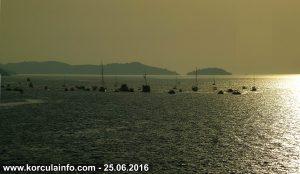 Lađarska regata Kneže-Korčula - Žrnovski Galioti 25.06.2016