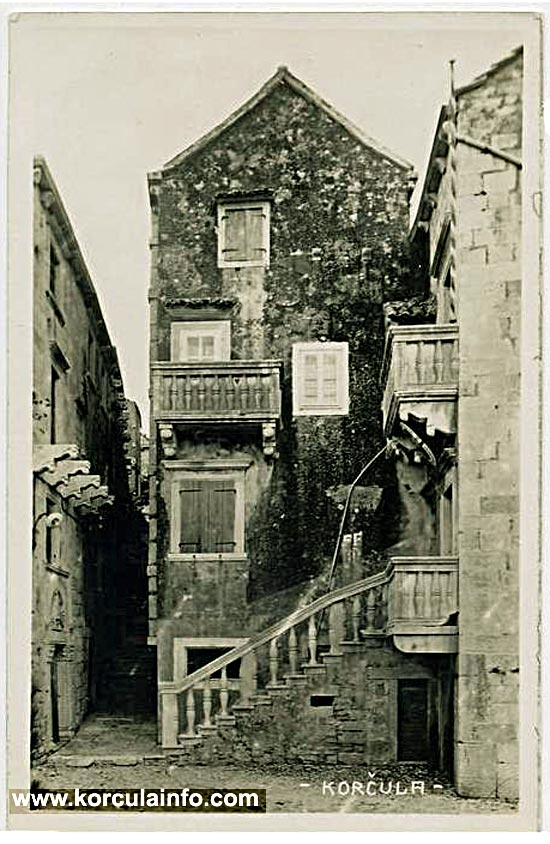 The House of Marko Andrijic in Korcula ( 1480s)
