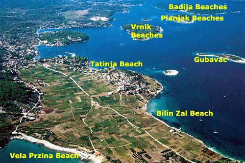 korcula - archipelago- beaches-panorama1