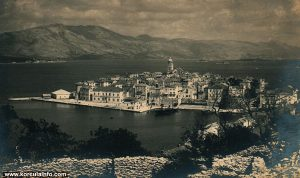 Riva Korcula in 1930s