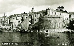 Korcula Port in 1932
