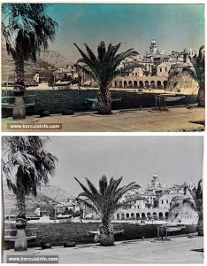Riva in Korcula in 1962
