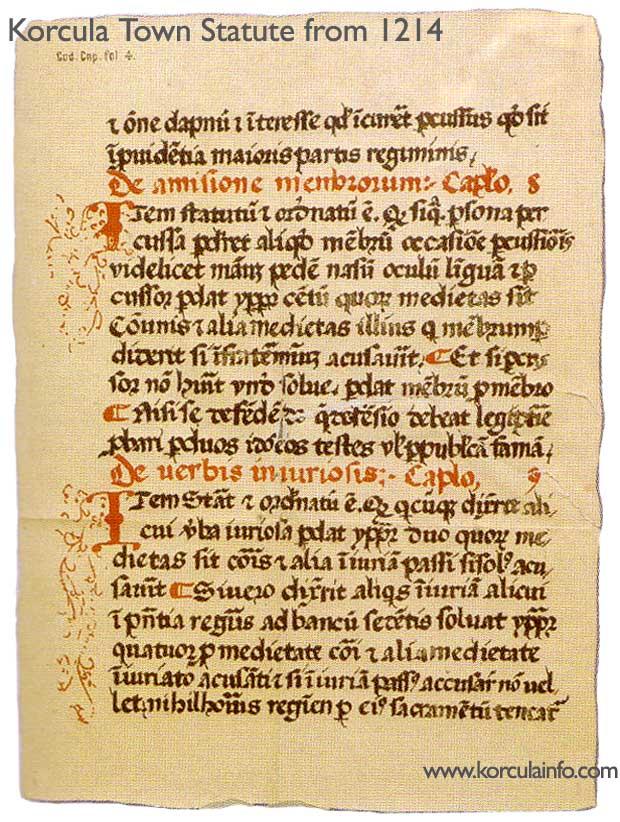 korcula-statute-1214