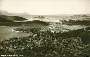 Luka aka Porto Pidocchio and its surroundings (Skoji, Borak, Jezevica) cca 1910