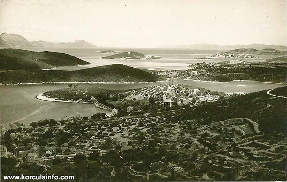 Luka aka Porto Pidocchio and its surroundings (Skoji, Borak, Jezevica) cca 1910